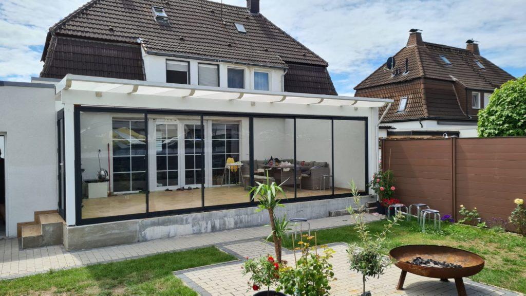 Terrassen-Wintergarten - Wir machen aus Ihrer Terrasse einen Wintergarten! - Referenzen aus Unna