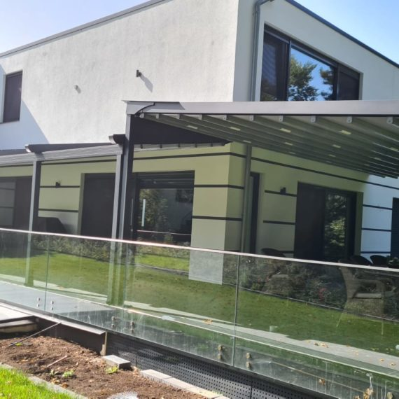 Terrassenüberdachung inkl. LED - Referenz aus Dortmund