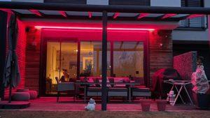 Terrassenüberdachung inkl. LED - Referenz aus Werl (Kreis Soest)