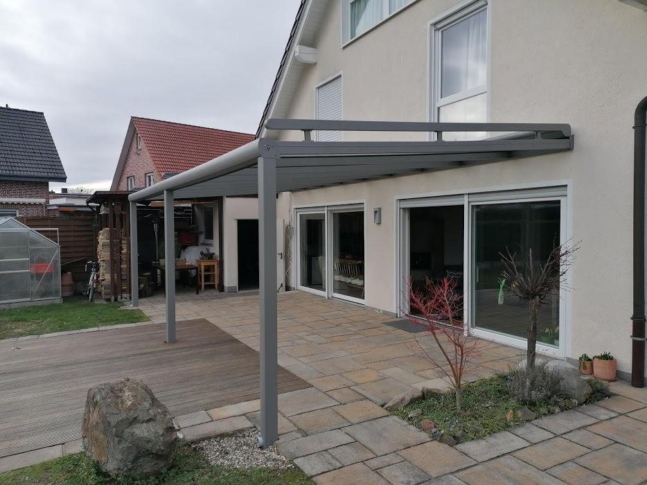 Terrassenüberdachung inkl. Sonnenschutz - Elektrisch - Referenz aus Hamm