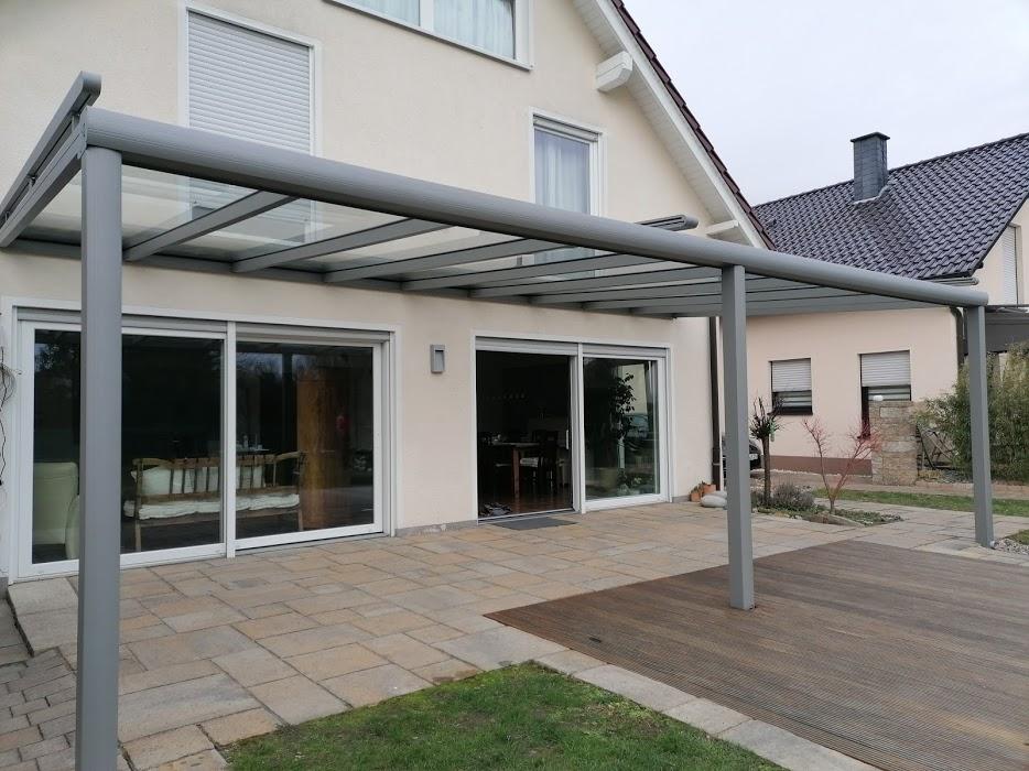 Terrassenüberdachung inkl. Sonnenschutz - Elektrisch - Referenz aus Hamm - Elite-Fensterbau @elite.fensterbau